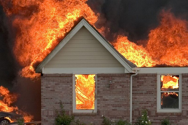 recovering after a house fire